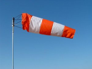 Windsock atau Petunjuk Arah Angin
